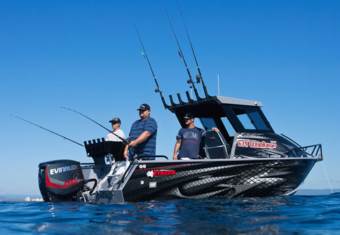 Stacer aluminium boats whats new for Wrap fishing system