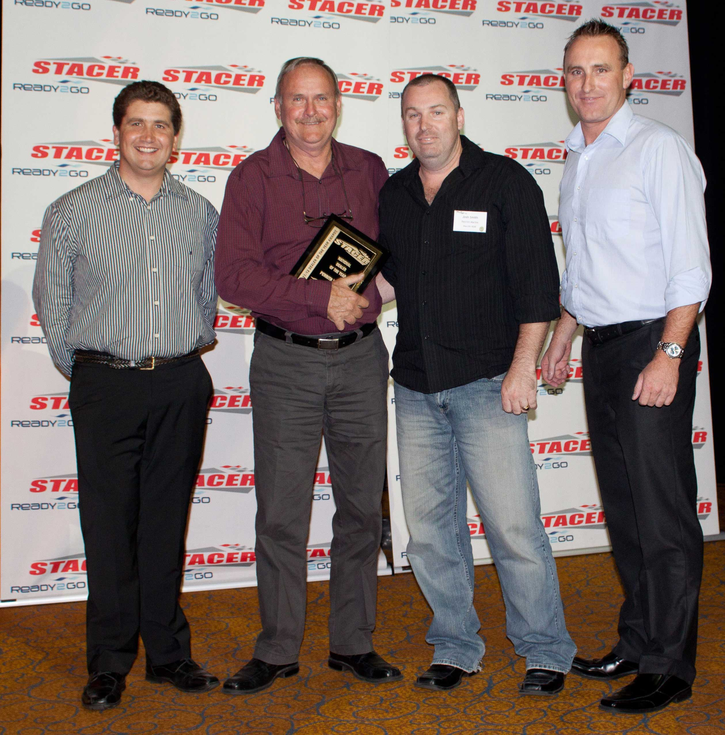 Stacer Dealer of the Year for 2012 - Penrith Marine