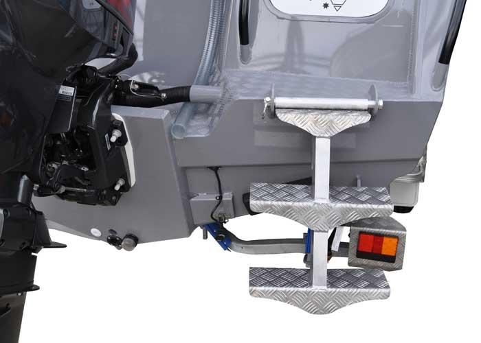 Aluminium Boat Transom Accessories